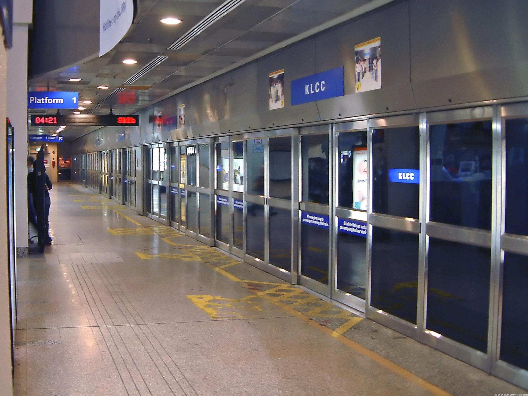 Kuala Lumpur LRT Station