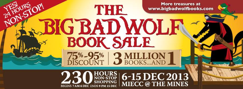 15 Tips You Need To Know To Survive The Big Bad Wolf Book Sale