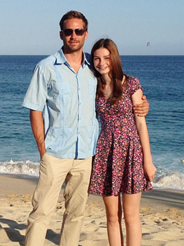 Paul Walker And Daughter Paul Walker And His Daughter