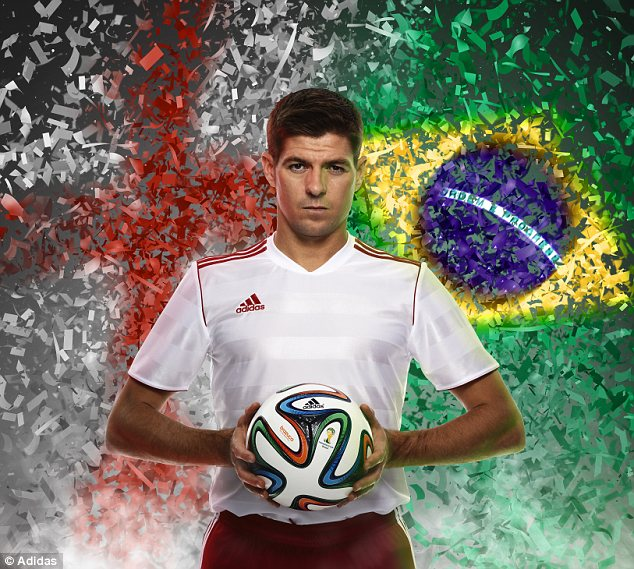 Bring on the Brazuca: England captain Steven Gerrard believes the new World Cup ball will be the best yet