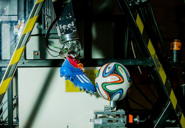 Testing, testing | The Brazuca underwent a number of tests during production