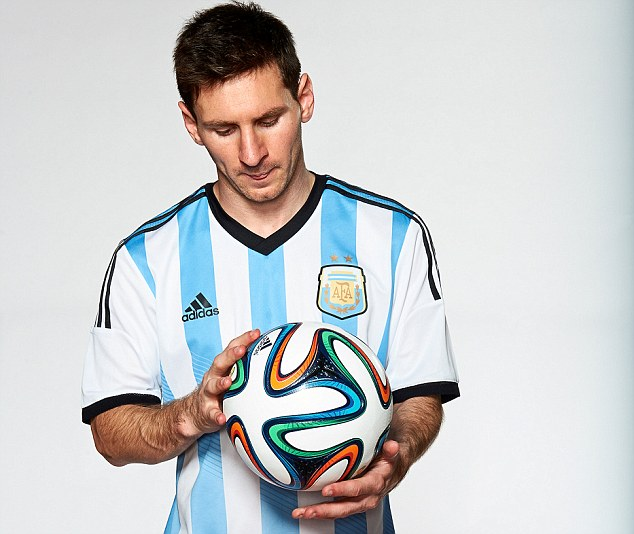 Lionel Messi will be hoping to lead Argentina to glory at next summer's showpiece in Brazil