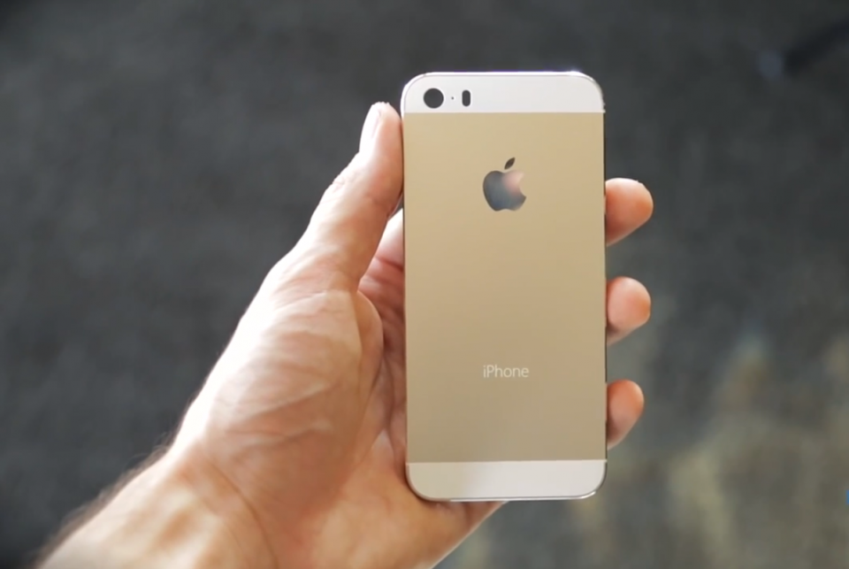 White/gold iPhone looks classy, doesn't it?