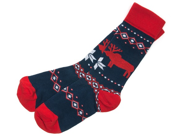 No, I don't want reindeers on my feet.