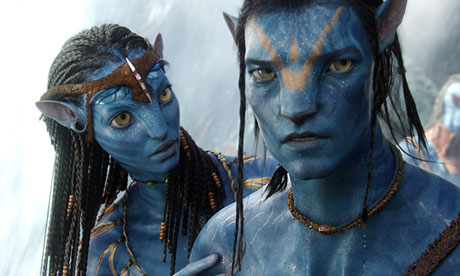 Zoe Saldana and Sam Worthington in Avatar. Photograph: 20th Century Fox