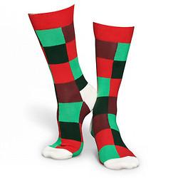 Photo of festive socks.