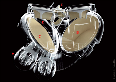 Carmat's artificial heart is as intricate as a real one.