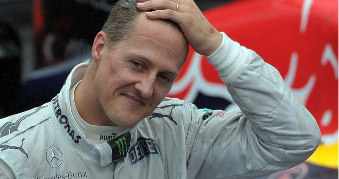 File photo of Michael Schumacher.