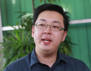 Sky Thomas Food Industries marketing manager Thomas Tang says the firm has big plans for its instant noodles.