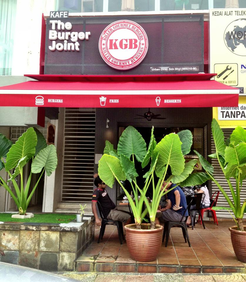 KGB is a pork-free burger joint located in Bangsar.