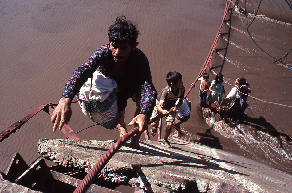 The 1985 Pulitzer Prize for feature photography was awarded for a portfolio of work taken in Angola and El Salvador for two Philadelphia Inquirer Sunday magazine stories.