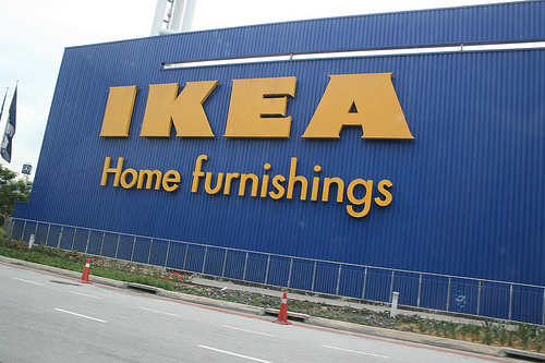 A photo of the Ikea outlet in Klang Valley.
