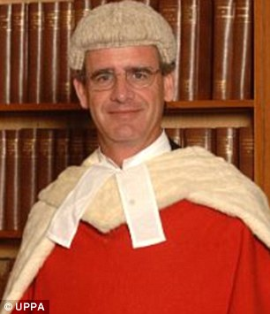Thrown out: Judge Lord Justice Briggs dismissed the case