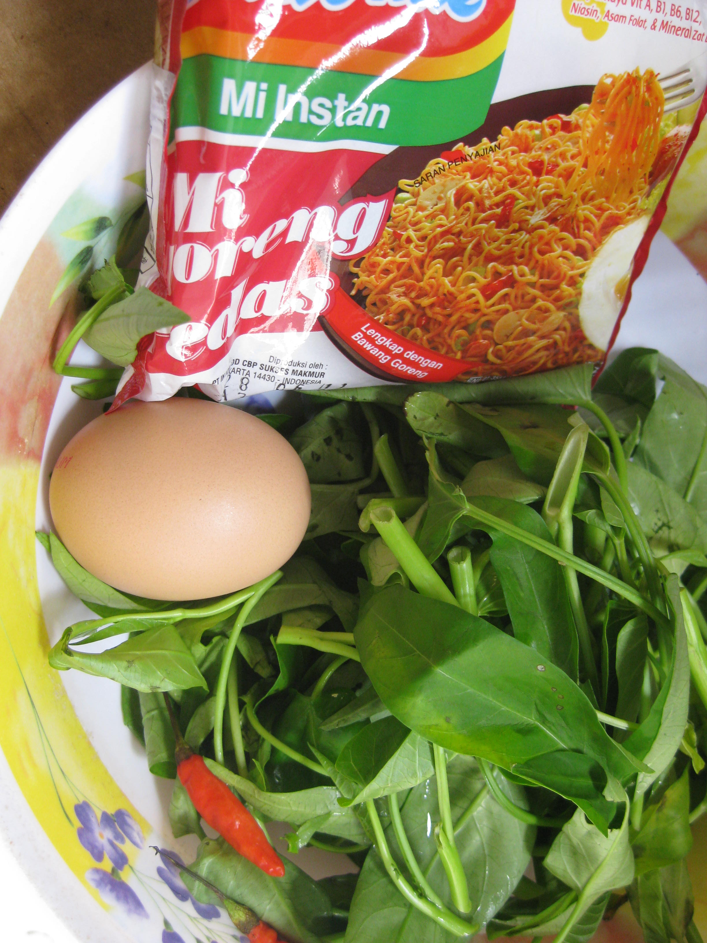 In Indonesia, it is considered a taboo to serve Kangkung to honoured guests