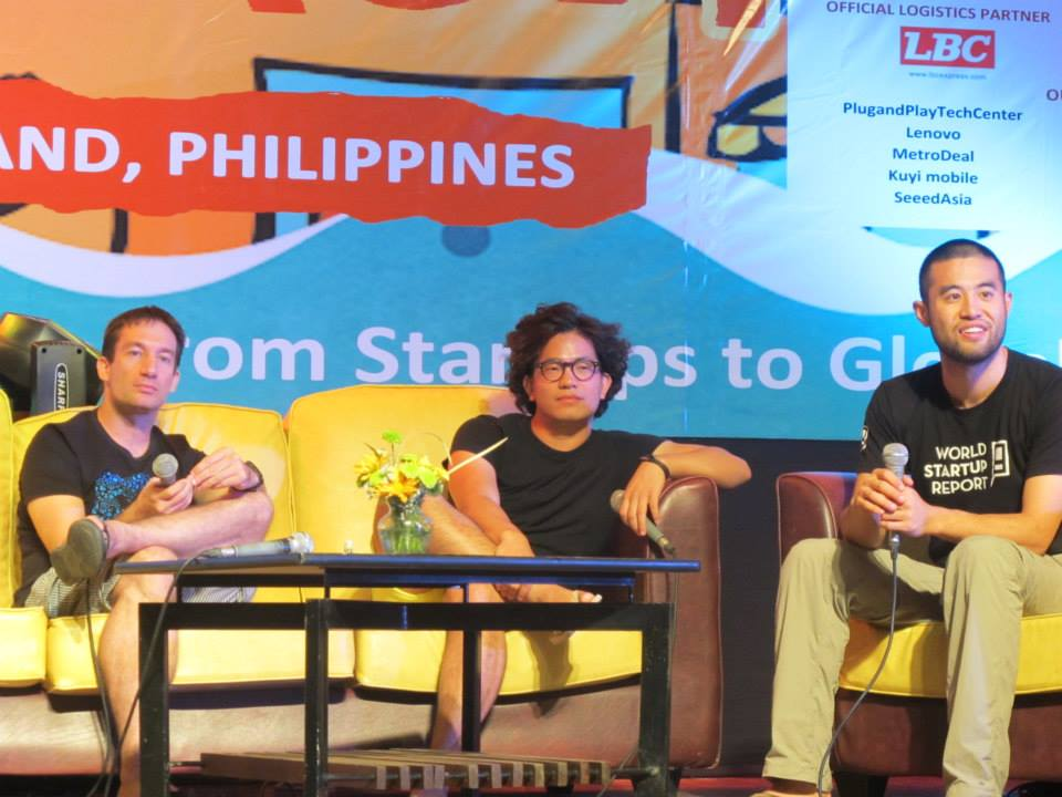 Khailee with World Startup Report in Philippines.