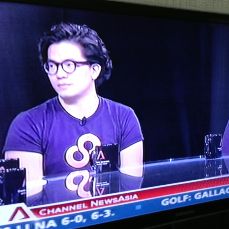 Khailee Ng on Channel News Asia.