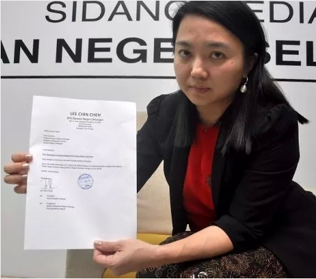 Selangor State Assembly Speaker Hannah Yeoh Has Personally Received His Resignation Letter