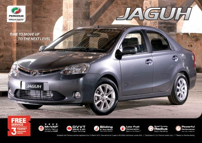Perodua Is Releasing A New Sedan Model Called Jaguh Really