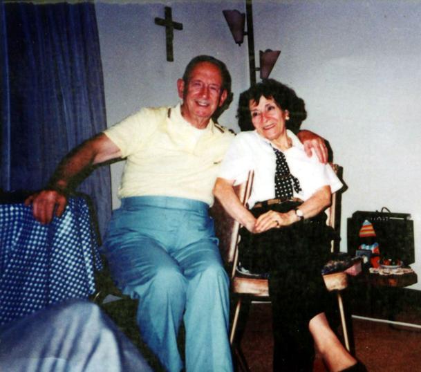 Rocky Abalsamo and Julia.