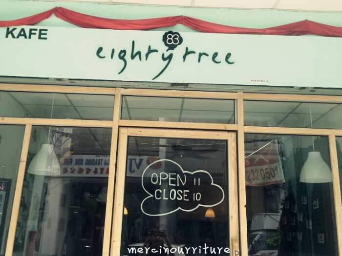 Eight Tree cafe in Penang