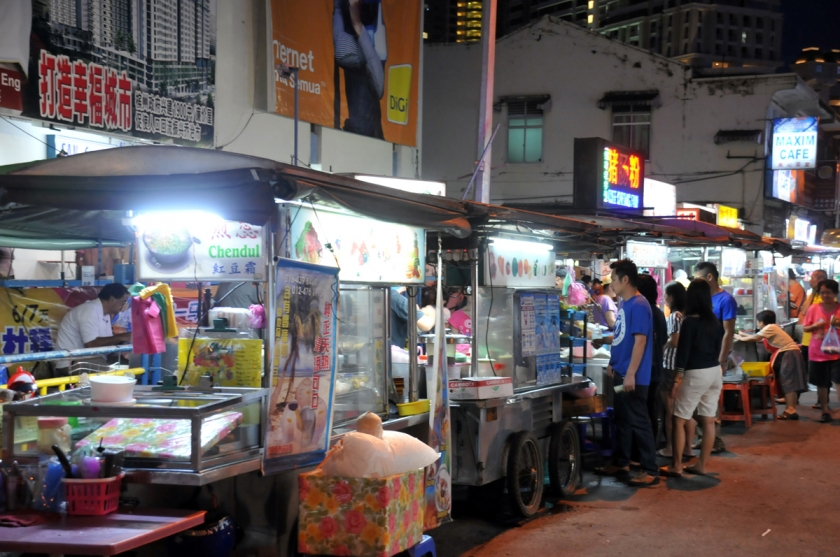 There are approximately 85,000 food handlers in the hawkers' paradise of Penang.