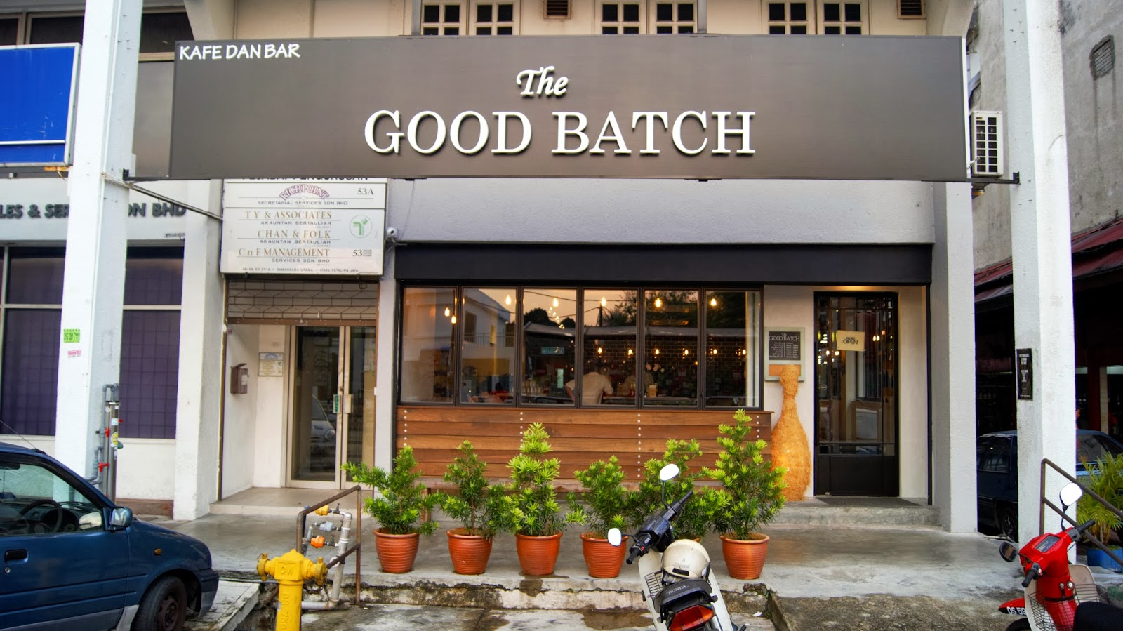 The Good Batch, uptown.