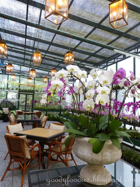 The Orchid Conservatory.