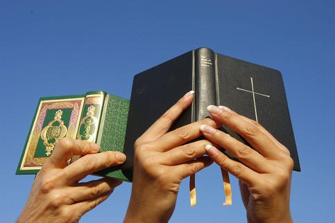 The Quran and the Bible.
