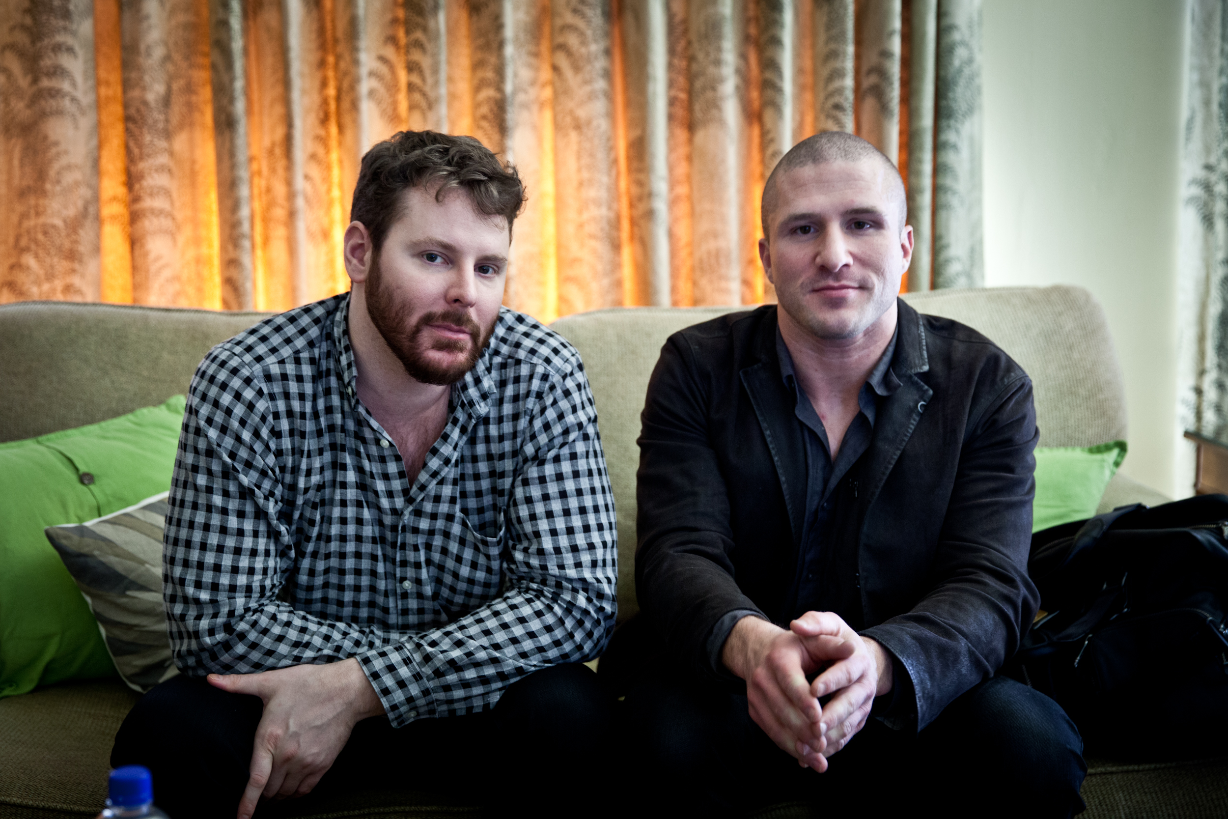 Napster co-founders Sean Parker (left) and Shawn Fanning