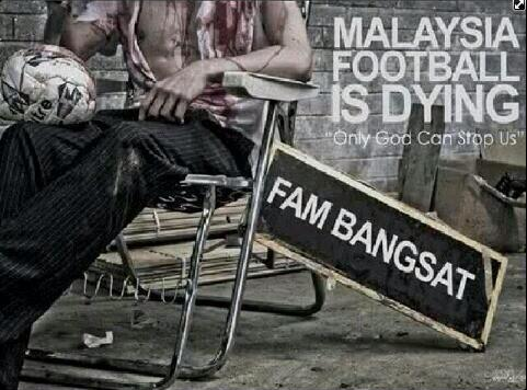Ilustrasi Malaysia Footbal Is Dying