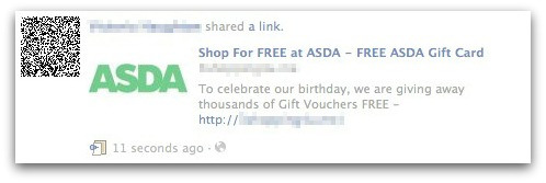 ASDA is a hypermarket chain in the UK