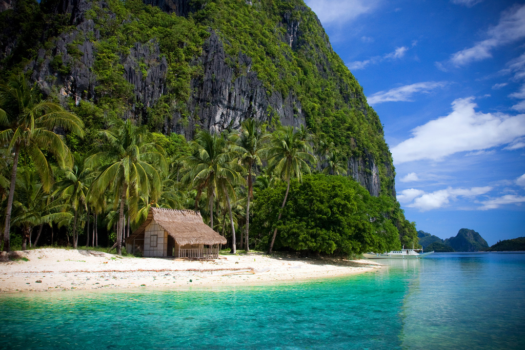 Bacuit Bay, El Nido, Palawan, Philippines. One the best beaches in the world