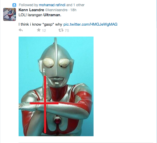 Malaysians Started To Speculate The Reason Behind Ultraman's Threat To Public Disorder