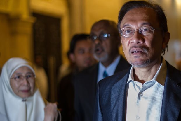 Anwar found guilty of sodomy on 7 March 2014.