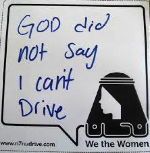 Women are still not allowed to drive in Saudi Arabia