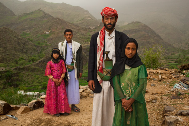 Most girls are forced to drop out of school and marry men they don't know before they turn 18 in Yemen