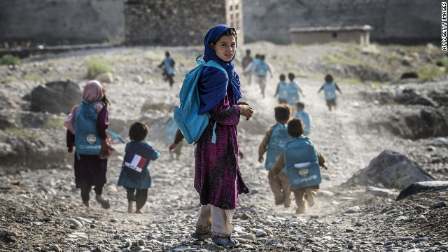 Girls are denied education in Afghanistan