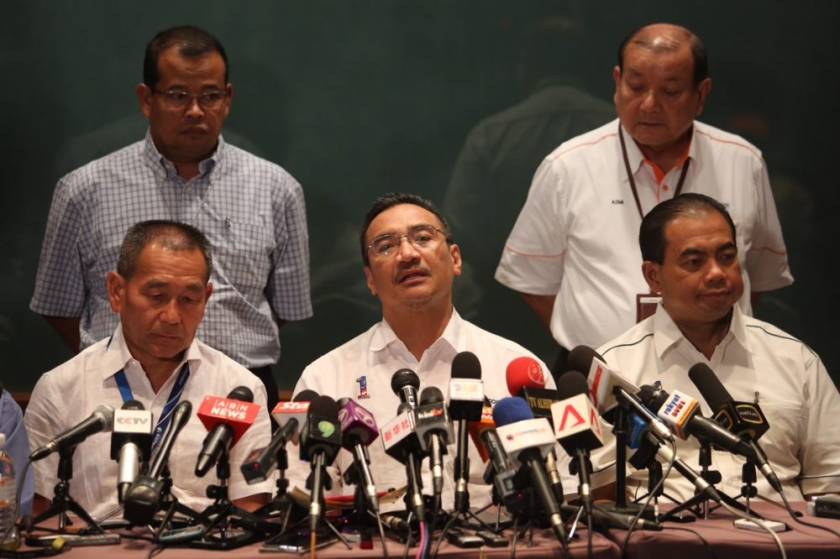 Hishammuddin said the Department of Civil Aviation (DCA) and the Foreign Ministry have confirmed that no wreckage was found at the island south of Vietnam