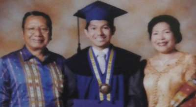 Firman and his parents