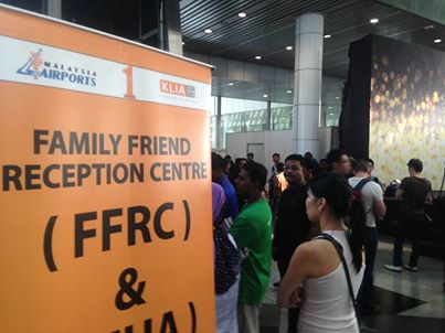 Family Friend Reception Centre and Holding Area at KLIA