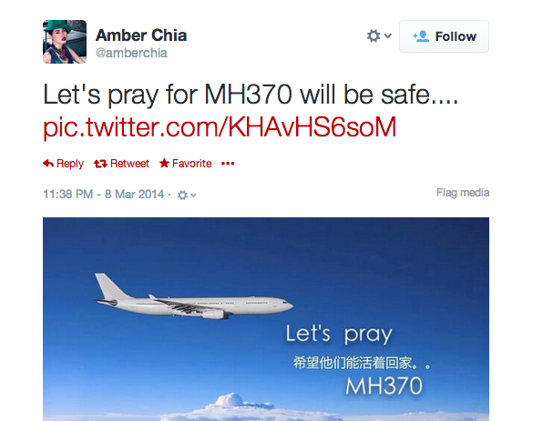 Amber Chia on MH370.