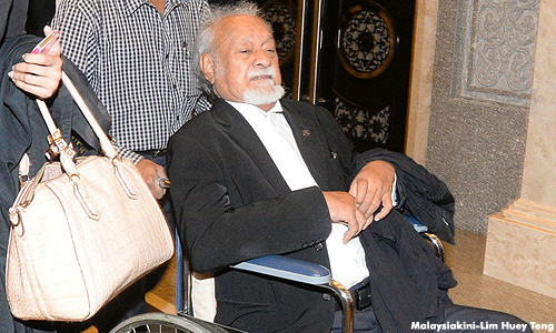 Karpal Singh has lost his eligibility to be Bukit Gelugor MP