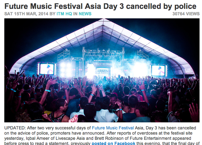 In The Mix's report on FMFA 2014.