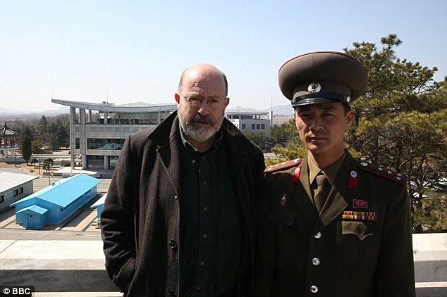 Panorama reporter John Sweeney spent eight days in North Korea for the programme