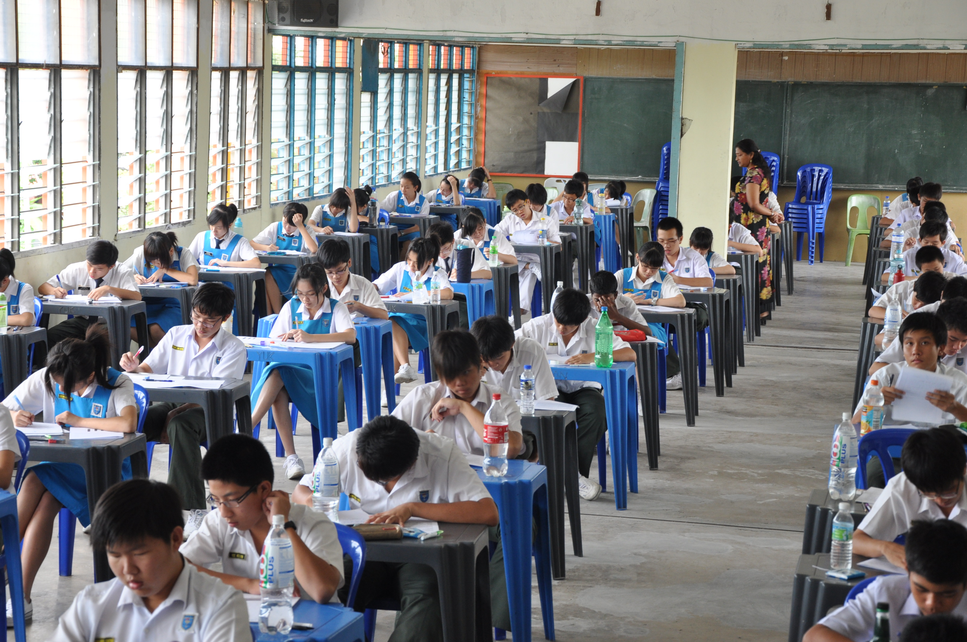 The Penilaian Menengah Rendah (PMR) Examination For Form Three Students Was Last Held In 2013