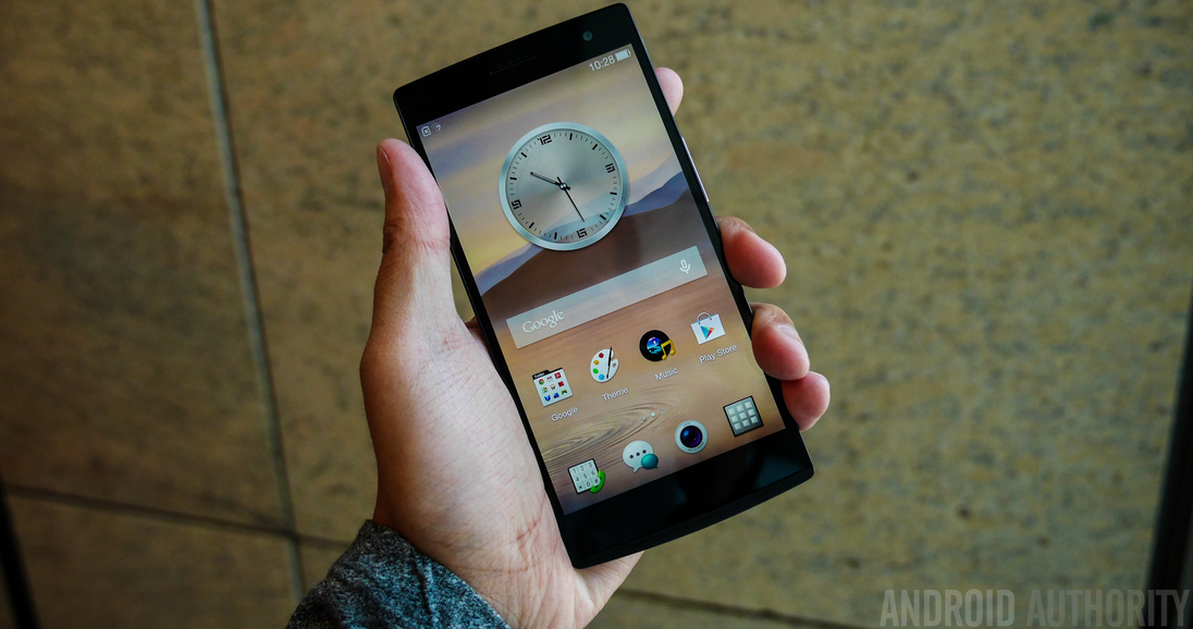 The Chinese company's latest phone, the Find 7