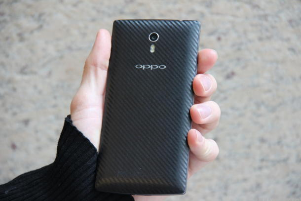 The Find 7 will come with carbon fiber rear cover.