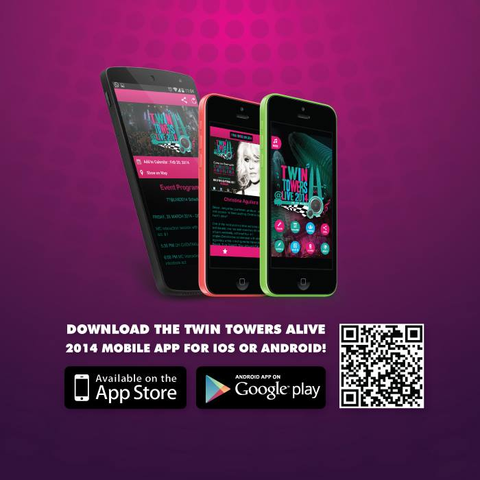 Official Twin Towers Alive mobile app.