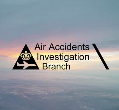 Logo Air Accidents Investigation Branch (AAIB)