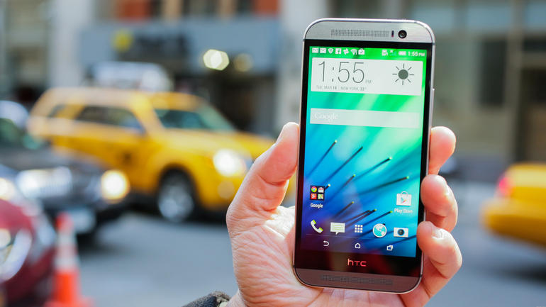 The HTC One M8 is one lovely phone.